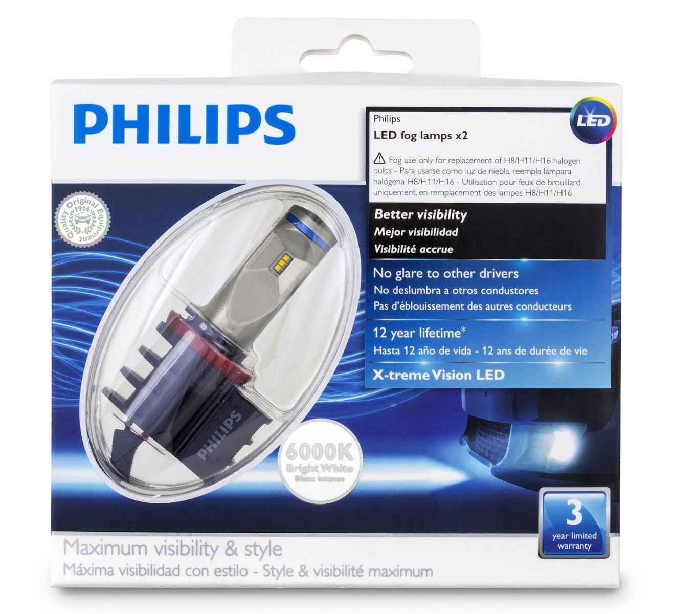Светодиодные лампы филипс для авто